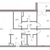 Просто схема этой квартиры на ул. Льва Толстого, 23
