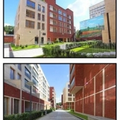 Узкие проходы между зданиями - внутриквартальная застройка