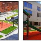 Внутренняя инфраструктура - детские площадки