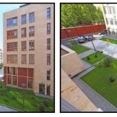 Здания как правило не многоэтажны - не более 7 этажей