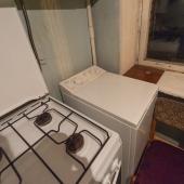 На кухне проведён газ