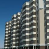 В доме 9 этажей, балконы будут застеклены
