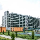 Рядом с домом строится паркинг для местных жителей
