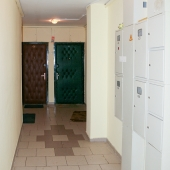 Общий коридор - можно оставить вещи