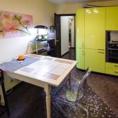 Панорама кухни, площадь 12 м2