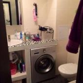 Фотография части ванной комнаты на Филевском бульваре, 39