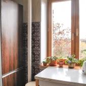 Окно новое на кухне кстати