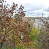 Вид из окна во двор в сторону Гжатской улицы