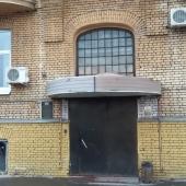 Вход в подъезд этого дома на Бауманской 43/1строение