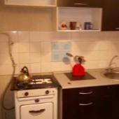 Как видите на кухне стоит газовая плита