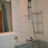 Состояние ванной комнаты. В этих домах все санузлы раздельные.