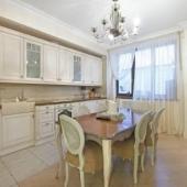Кухня в этой квартире на Оболенского 9к1