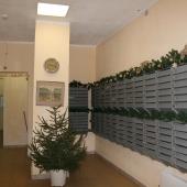 В подъезде почтовые ящики и общее состояние