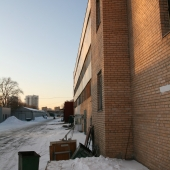 Здание является административно-производственным