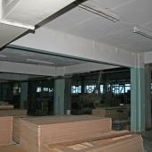Часть помещения с низким потолком по площади 225 кв.м.