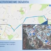 Расположение базы на карте
