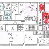 Схема офисов