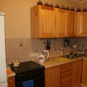 Холодильник, плита, кухня