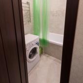 Ванная комната в этой квартире по Солнцевскому проспекту 9