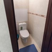 Как можете видеть, туалет раздельный, и тоже в отличном состоянии!