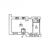 Схема помещения по частям