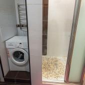 Еще 1 фотография ванной комнаты на ул. А. Волгина, 8а