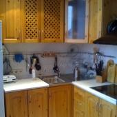 Можно оценить состояние кухни на Просвирином переулке