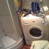 Ванная комната в этой квартире, Просвирин пер., д. 13