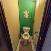 Туалет, как можно видеть, раздельный
