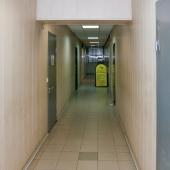 Общий вид коридоров в здании БЦ