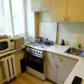На кухне всё достаточно практично!