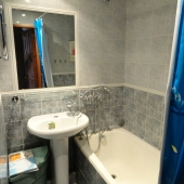Ванная комната в этой квартире на Бутлерова 38к3