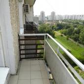 Один из балконов, в этой квартире их два.