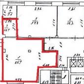 Схема помещения по комнатам