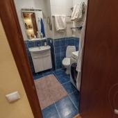 Ванная комната в этой квартире на Островитянова 5к2