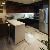 Столовая зона - начало кухонной