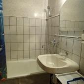 Ванная комната в этой квартире на ул. Суздальской 18к6