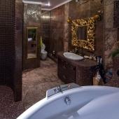 Да, и ванная комната довольно просторная!