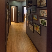По коридору далее 2 детских комнаты