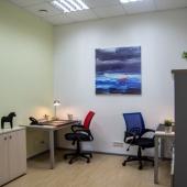 Разные площади можно подобрать для офисной работы в БЦ Сириус