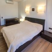Ремонт в спальне тоже, как видите, дизайнерский!