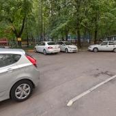 Парковка стихийная
