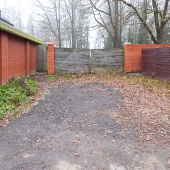 Ворота участка