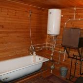 Ванна и система нагрева воды
