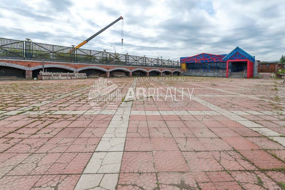 Площадка под асфальтом